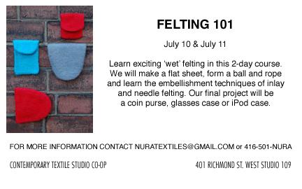 felting 101