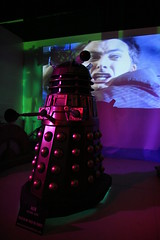 Dr Who scared by a Dalek