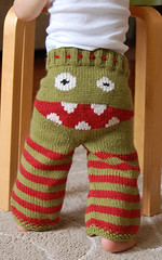 Classic Monster Booty 2 (crankypantsknits) Tags: wool toddler handknit merino soaker longies crankypants clothdiapering monsterbooty indiepublic