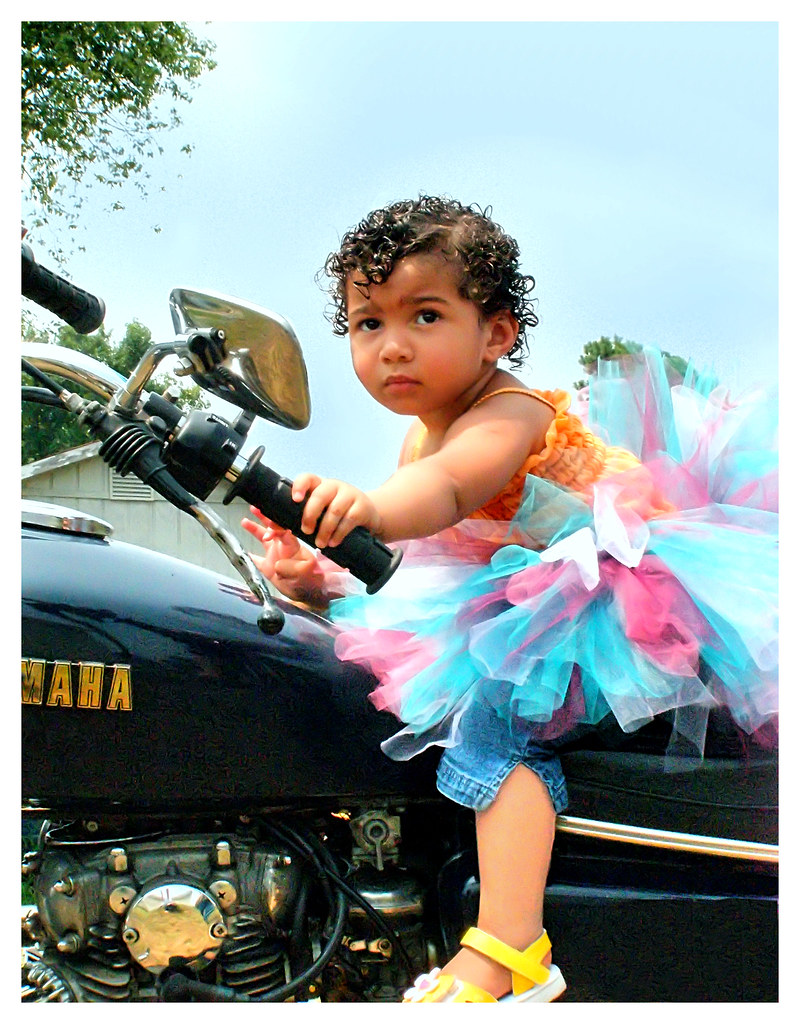 Born To be WILD.... but still GIRLY