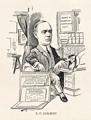 Ernest F. Guilbert Caricature, c.1914