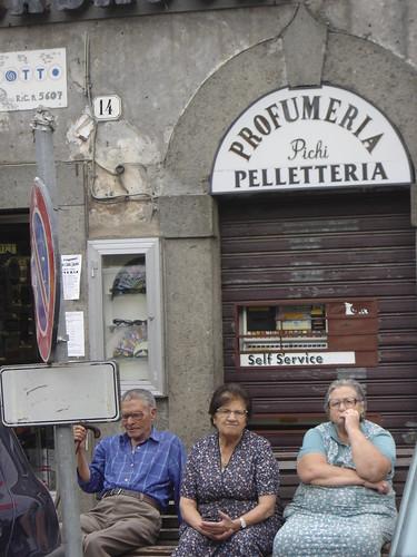 La tarde en los pueblitos italianos
