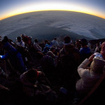 Summit sunrise spectacle