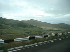 On the way to Gyumri