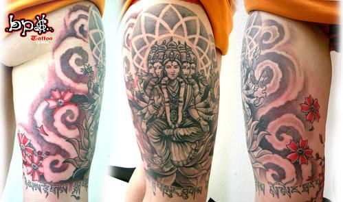 GAYATRI Shiva tattoo par olive