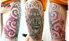 GAYATRI Shiva tattoo par olive Tattoo par Olive