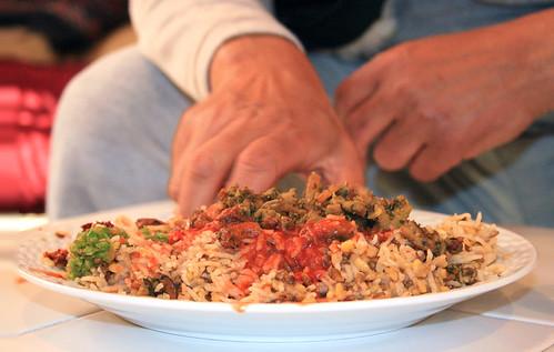 "kuwaiti food called ""emmawash"" - a photo on Flickriver"