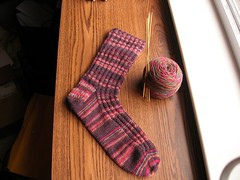 Socks in progress.JPG