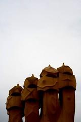 pedrera (b3co) Tags: barcelona espaa contraluz cielo gaudi pedrera b3co lapedrera lugarbarcelona paisespaa