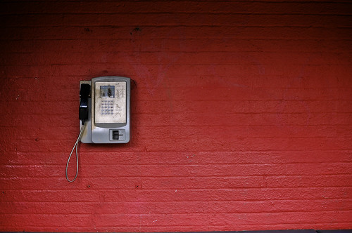 Public Telephone At Heath Low Level Station
