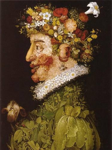 001-Primavera-Serie las estaciones 1563-Giuseppe Arcimboldo