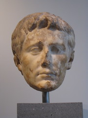 Augustus (cwinterich) Tags: marble augustus themetropolitanmuseumofart romanemperors julioclaudian greekandromangalleries