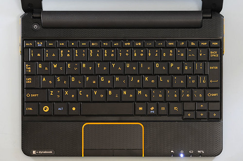 Toshiba AZ/AC100 keyboard