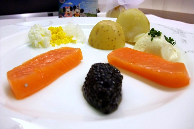 "Caviar and Balik Salmon ""Tsar Nicolaj"""