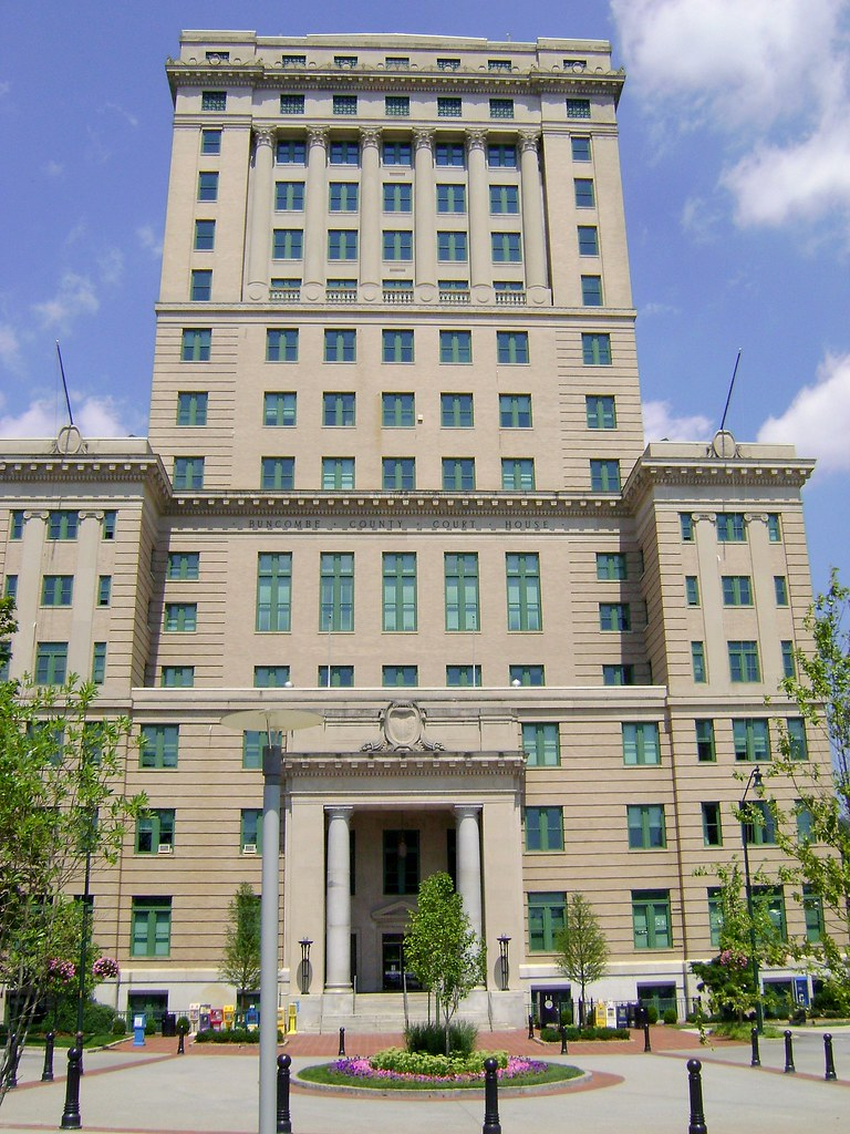 Buncombe County Courthouse, Asheville NC, Downtown