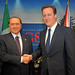 PM and Silvio Berlusconi