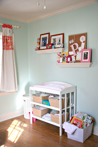 Sweet P's Nursery - Changing Area
