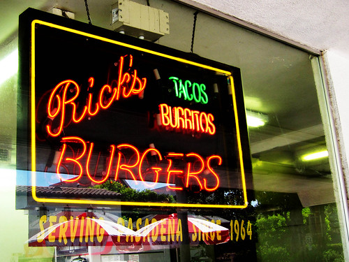Lunch at Rick's Burgers