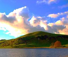 Lough Gur Sky (murtphillips) Tags: light sky lake evening october scenery lough limerick gur natureplus saariysqualitypictures mygearandme rememberthatmomentlevel1 rememberthatmomentlevel2