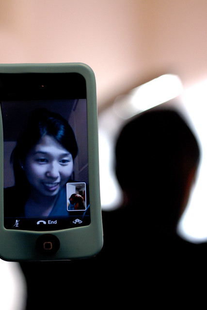 Day 63 - Facetime with Cathy