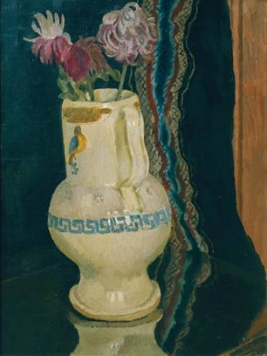 Bell, Vanessa (1879-1961) - 1920 Chrysanthemums (Tate Gallery, London) by RasMarley