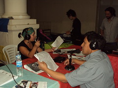 "Rádio Aberta na @Amarc10 • <a style=""font-size:0.8em;"" href=""http://www.flickr.com/photos/55661589@N02/5158366776/"" target=""_blank"">View on Flickr</a>"