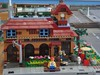 "LEGO ""The Fortress"" Entirely Imagined Restaurant (Completed) (brickbuilder711) Tags: city train layout restaurant town lego fortress awesomeness beastiality"