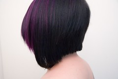 not nekkid (Fenchurch!) Tags: haircut hair short purplehair fenchurch