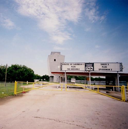 Admiral Twin Drive In Theater, Tulsa, Oklahoma