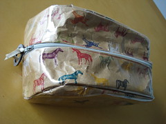 Horse Make-up Bag