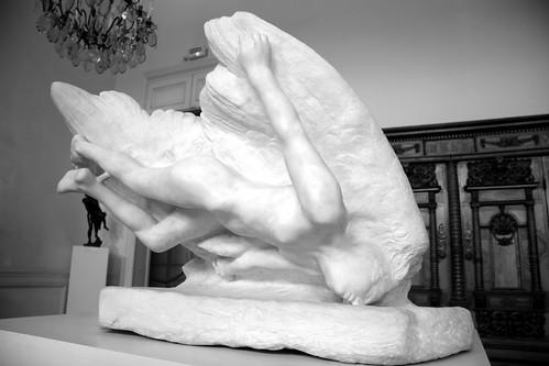 Auguste Rodin. L'Illusion soeur d'Icare. 1895. Musée Rodin, Paris