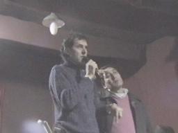 Edson Franco (Intendente de Dalamcio) - Hugo Ferreyra (Presidente de la U.C.R.)
