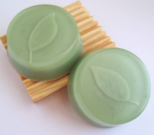 Spearmint Leaf Soap Bars