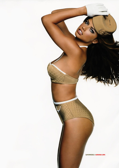 adriana lima on uk gq 07