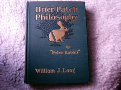 Brier Patch Philosophy (shebrews) Tags: vintage antique peterrabbit books williamjlong
