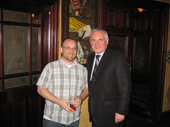 Steve and Bertie Ahern, the Prime Minister of Ireland
