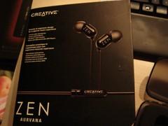 Creative Zen Aurvana betters Shure E3C? - 2