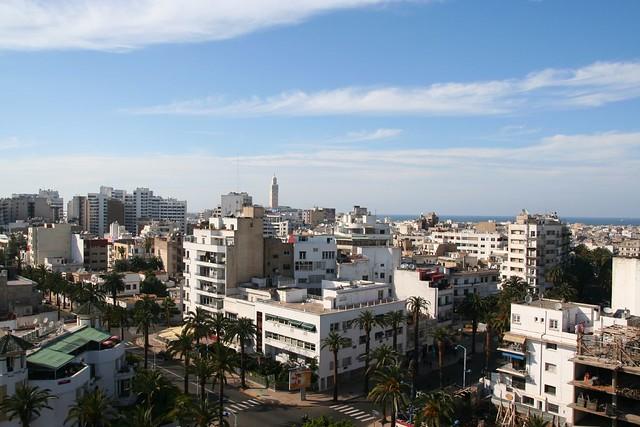 casablanca cityscape
