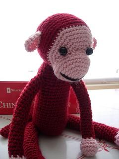 Free Pattern Crochet Monkey : Ravelry: Crocheted Monkey pattern by Chimu Hamada