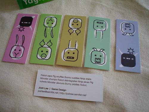Moo Minicards: Bunny/Pig/Robot/Monster/Ninja