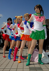 sailor moon (Paul Hillier Photography) Tags: anime up japan tokyo dress cosplay convention 72 comiket
