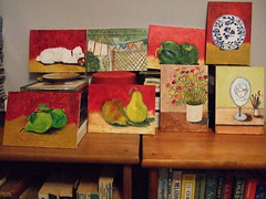 8 days - 8 paintings (A Place to Paint) Tags: toronto art painting daily dailypainting