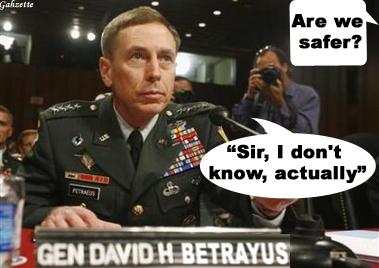 Betrayus Petraeus