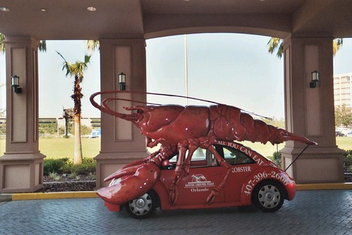 crazy car! the lobstermobile Bug. by JasonB.