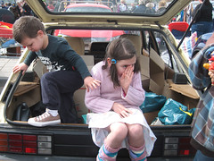 car boot sale (dellstewart) Tags: car boot little sale yella