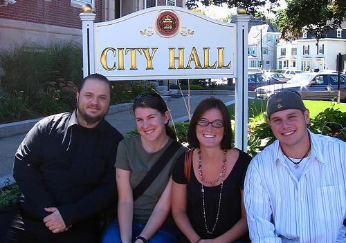 Andrew, Heather, Caitlin, & Dirk