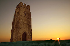 Glastonbury Tor at Sunset (torimages) Tags: sunset tower glastonbury somerset sd tor nationaltrust allrightsreserved glastonburytor llovemypic donotusewithoutwrittenconsent copyrighttorimages