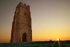 Glastonbury Tor at Sunset (torimages) Tags: sunset tower glastonbury somerset sd tor nationaltrust allrightsreserved glastonburytor llovemypic donotusewithoutwrittenconsent copyrighttorimages
