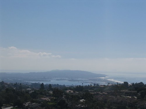Mission Beach from La Jolla Mountain