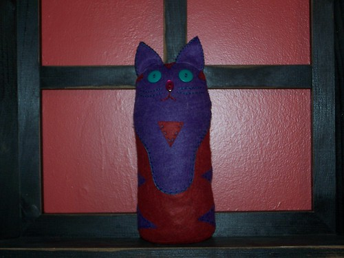 kitty door stop by spikeymonkey325.